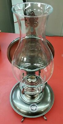 Vintage Lamplight Farms Metal Oil Lamp with Wall Holder