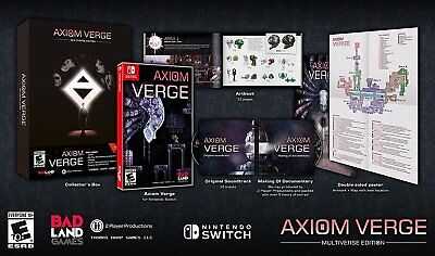 Axiom Verge - Multiverse Edition [Nintendo Switch Sidescroller Action Adventure]