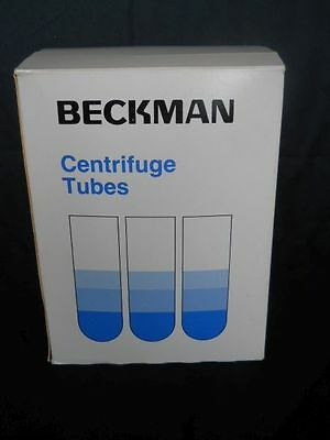 NEW IN OPEN BOX Beckman Centrifuge Tubes 326823