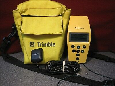 Trimble GeoExplorer II Handheld GPS Unit - Antenna & Cary Bag --8096
