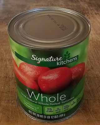 Weighted Diversion Can Stash Secret Safe Whole Peeled Tomatoes 28 oz Heavy