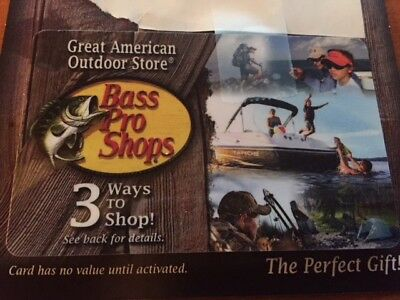 Bass Pro Shop Gift Card 200.00