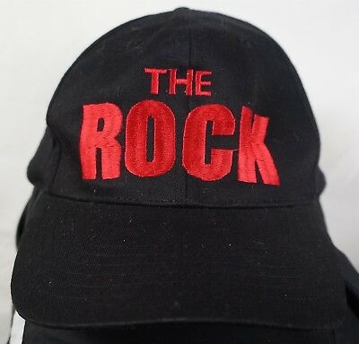 e51e3df0 Rare Vintage WWF The Rock Know Your Role Wrestling Snapback Hat Cap 90s  Black
