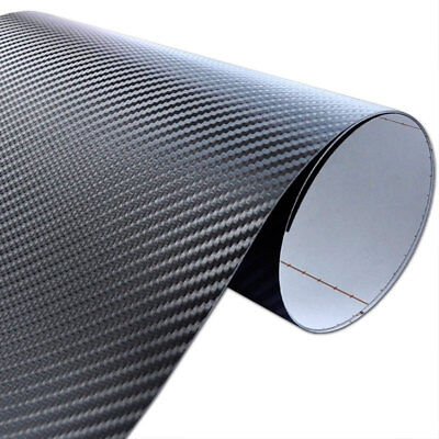 Pellicola ADESIVA CARBONIO 4D RACING CARTA CARBON CAR WRAPPING auto moto tuning