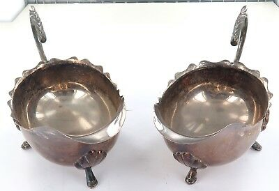 .matching Pair Vintage Epns Large Gravy Boats.
