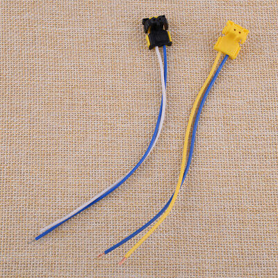 2x Airbag Clockspring Plug Connector Wire for Dodge Ford Chevrolet 1.7x1.3x1.3cm
