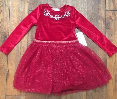 14d24f79ebdf BTWEEN BIG GIRLS  Dress with Velvet Top and Pearl Embellishment Sz ...