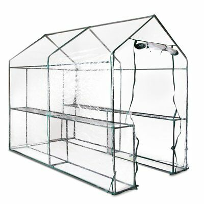 Walk In Greenhouse Tunnel Plant Green House Garden Storage Grow Sheds 1.9Mx1.2M
