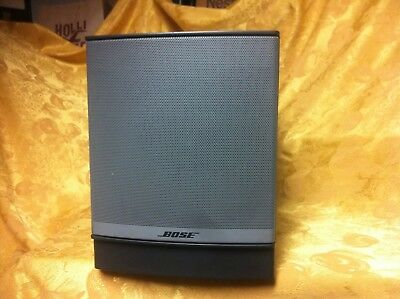 Bose Companion 3 Series II Multimedia Speaker System Subwoofer Amp Only Untested