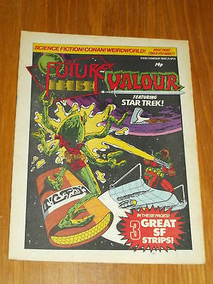 Future Tense And Valour #21 Marvel British Weekly 25 March 1981 Star Trek Conan