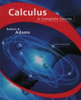 Calculus: A Complete Course by Adams, Robert A. Hardback Book The Cheap Fast