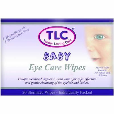 TLC | Eye Care Wipes Baby 20's