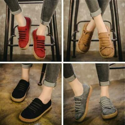 415df5d1565 Women Suede Slip On Soft Loafers Lazy Casual Flat Shoes Outdoor Moccasins