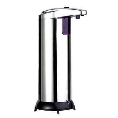 Automatic Stainless Steel Hands Free IR Sensor Soap Dispenser Stand Best GIFT AU