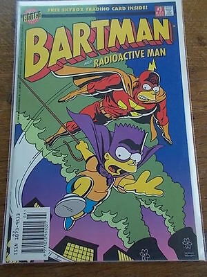 Number 3 BONGO Group Comics BART SIMPSON ARCHENEMY OF EVIL BARTMAN #3 COMIC No 3