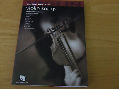 The big book of violin songs (130 Songs including)