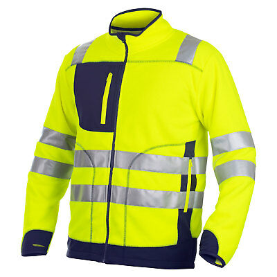 Projob Hi Vis Anti-Pilling Work Fleece - 646303