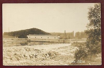WATERVILLE ME MAINE Hollingsworth Whitney Paper Mills Linen