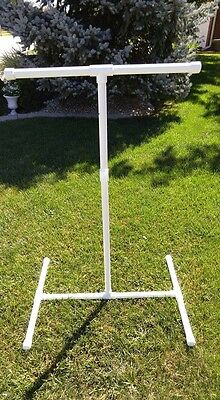 """NEW 1"""" Textured PVC Parrot  FLOOR PERCH  STAND  Birds Love Them! FREE SHIPPING!"""