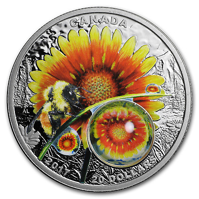 2017 Canada 1 oz Silver $20 Mother Nature: Beauty Under the Sun - SKU#151678
