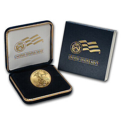 2018 1/2 oz Gold American Eagle BU (w/U.S. Mint Box) - SKU#152744
