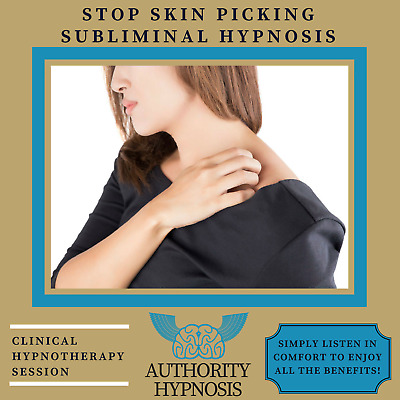 Stop Skin Picking Hypnosis, Break Bad Habits, Repair Skin, Clear Skin Beauty