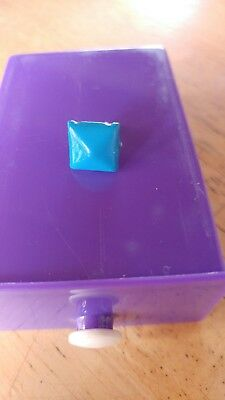 Metal Blue Anti Dust Plug