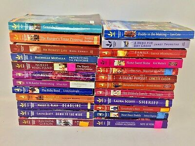 MIXED LOT 10 Love Inspired paperback Christian romance books  SHIPS FREE