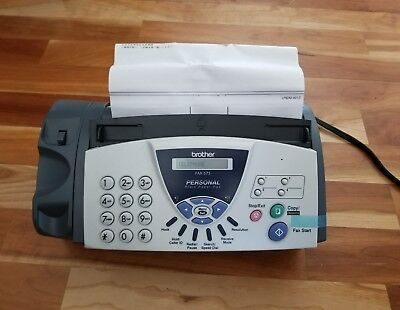 New Sealed Brother FAX-575 Plain Paper Fax Phone & Copier Free Shipping(No phone