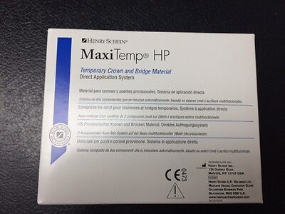 Henry Schein HP Temporary Crown  Bridge  MaxiTemp , equivalent to Luxatemp A2
