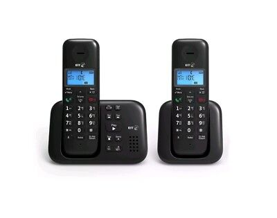 BT 3960 Twin Digital Cordless Phone With Answer Machine - New