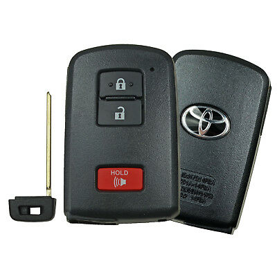 Fits 16-18 Toyota Land Cruiser Tacoma OEM Smart Remote Keyless Prox Fob With Key