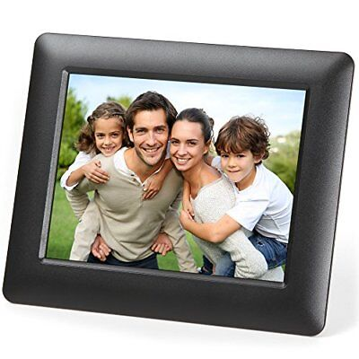 Micca 7-Inch Digital Photo Frame With High Resolution LCD and Auto On/Off Tim...