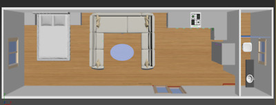 TRANSPORTABLE HOME, FULLY INSTALLED  - 1 Bedroom