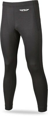 FLY Racing Base Layers Mens Heavy Weight Pant Black