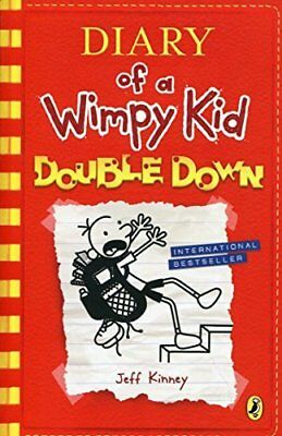 Diary of a Wimpy Kid: Double Down Diary of a  by Jeff Kinney New Paperback Book