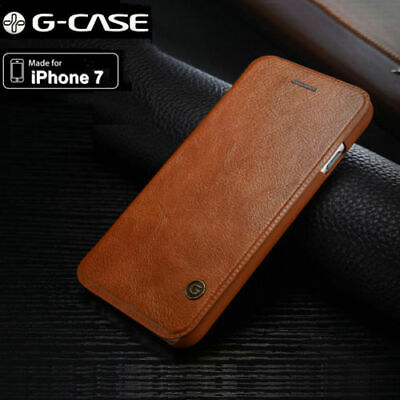Luxury Flip G-case Leather Card Wallet Slim Case Cover For iPhone 6s 7 8 XS MAX