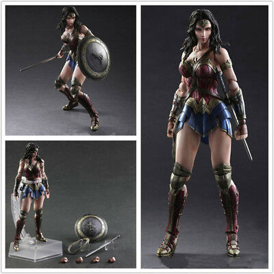 DC Comics Wonder Woman Figure SquareEnix VARIANT Play Arts Kai Model New in Box