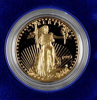 46064) 50 Dollars Gold 1993, American Eagle - Liberty, KM 219, Schön 220, PP