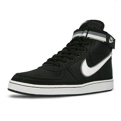 Nike Vandal High Supreme Black White Cool Grey Classic Shoes Sneakers 318330 -001 e332f1950