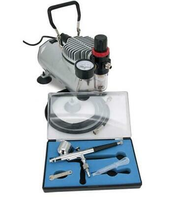 Arwin AS18K Airbrush Kompressor Set mit Airbrushpistole