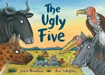 The Ugly Five by Donaldson, Julia Book The Cheap Fast Free Post