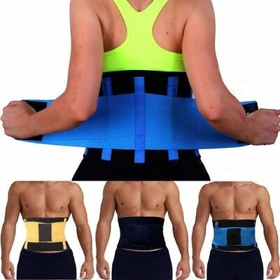 Proworks Lower Back Support Belt   Lumbar Support Brace for Exercise