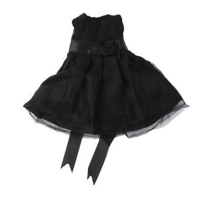 Fashion Black Princess Skirt Doll Clothes Party Dress for 18'' American Girl