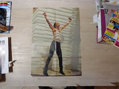 1980,s Michael Jackson BIG double poster  - Christina Apllegate side two