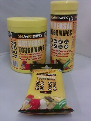 Universal Tough Wipes by Smaart Wipes