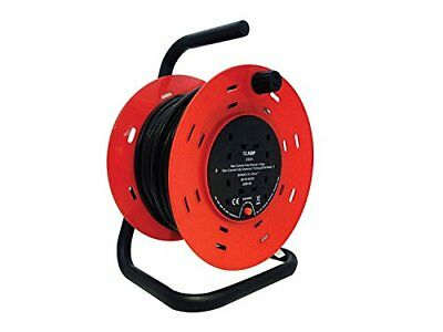 LILMACC® Heavy Duty 4 Way Mains Socket with 50M Extension Cable Reel with