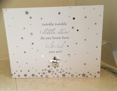 Twinkle Twinkle Little Star Baby Shower Naming Christening Guest Book