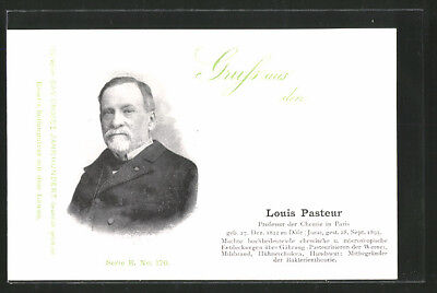AK Louis Pasteur, Professor der Chemie in Paris