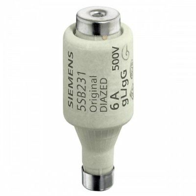 Pack of 5) Siemens is Diazed Fuse Link GL DII E276A 5005SB231